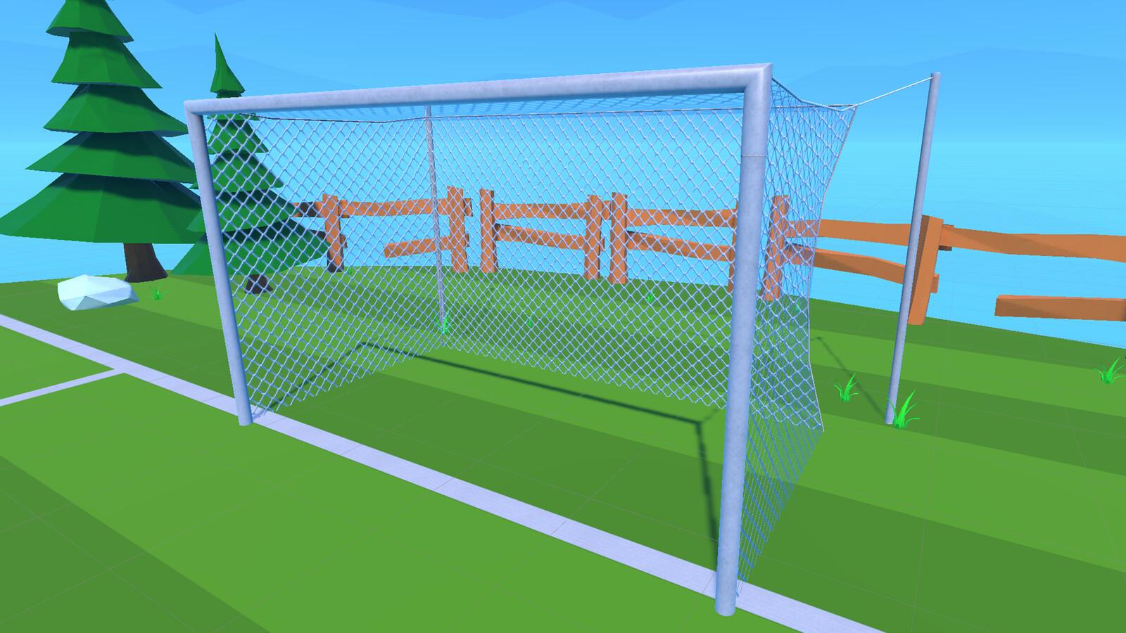 Goal closeup