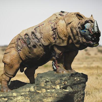 Renan assuncao rhino jpg artstation