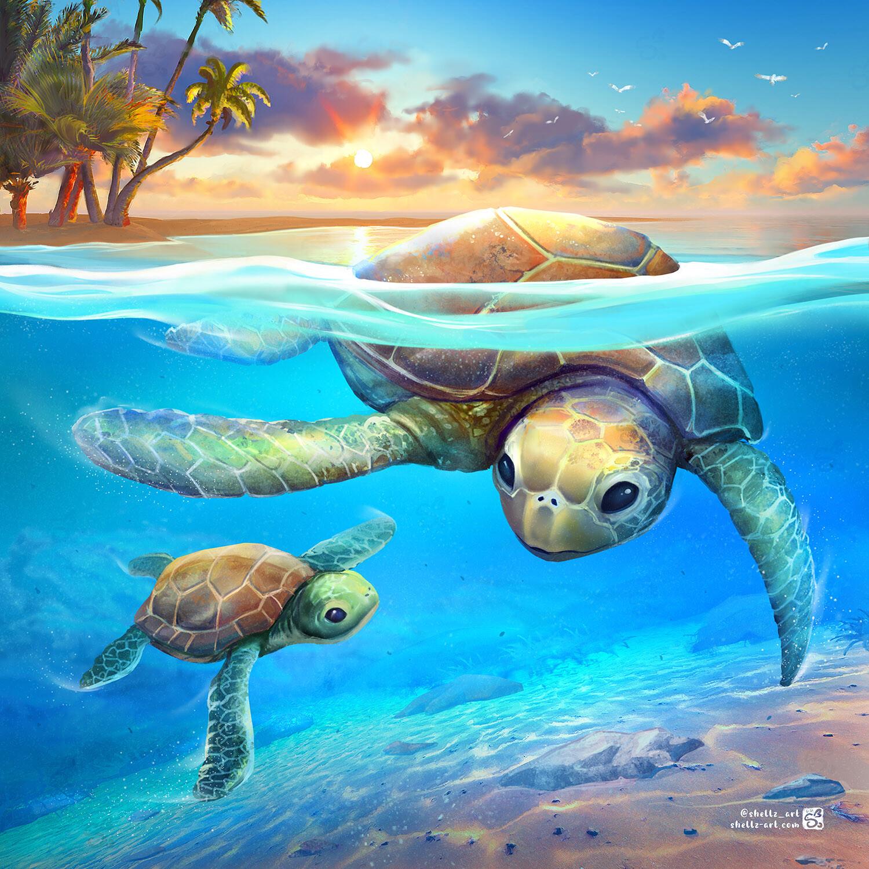 Tobago Turtles