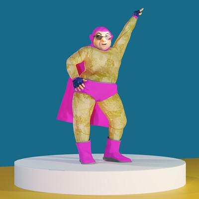 Luis super hero ig 2
