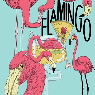 Luis flamingos