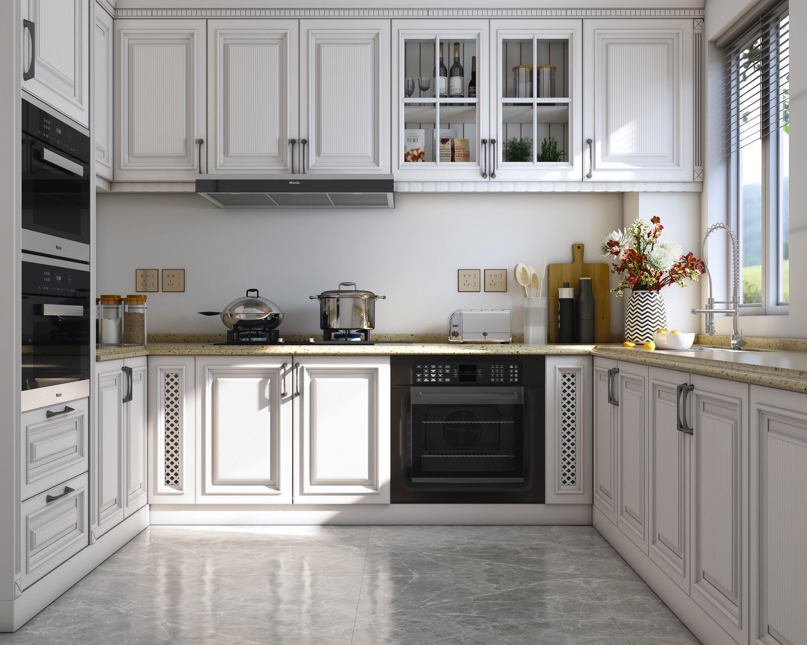 Kitchen, Light Study