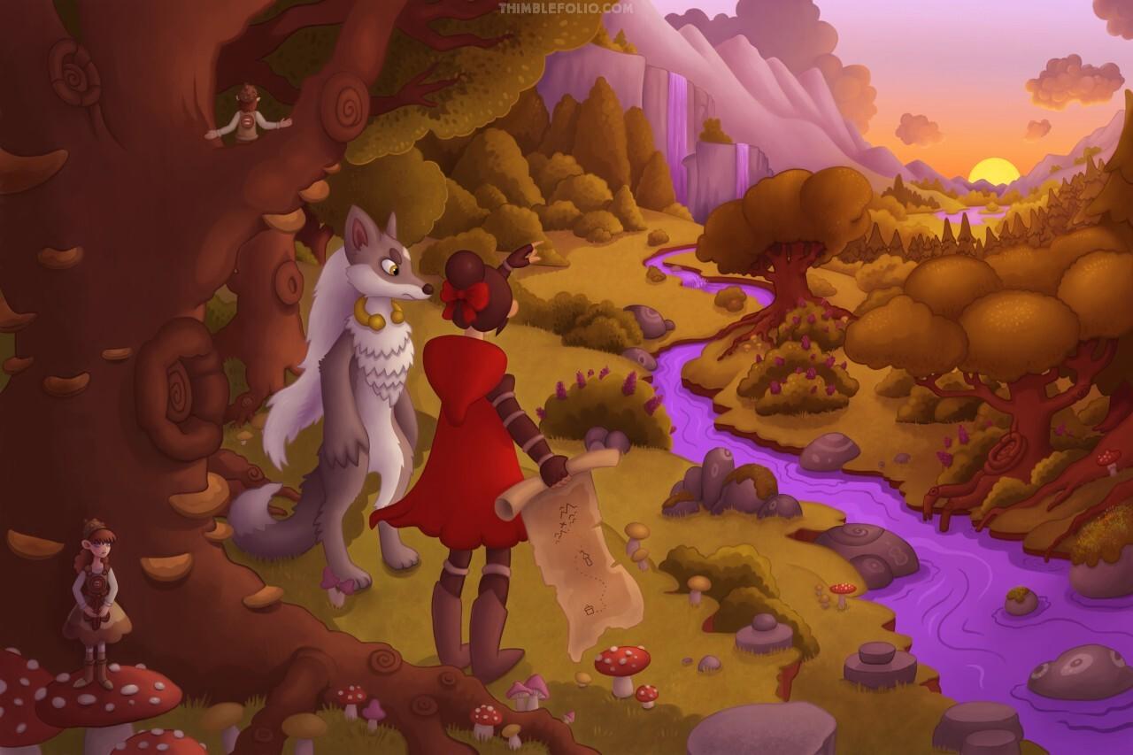 Meet Wolf and Hood