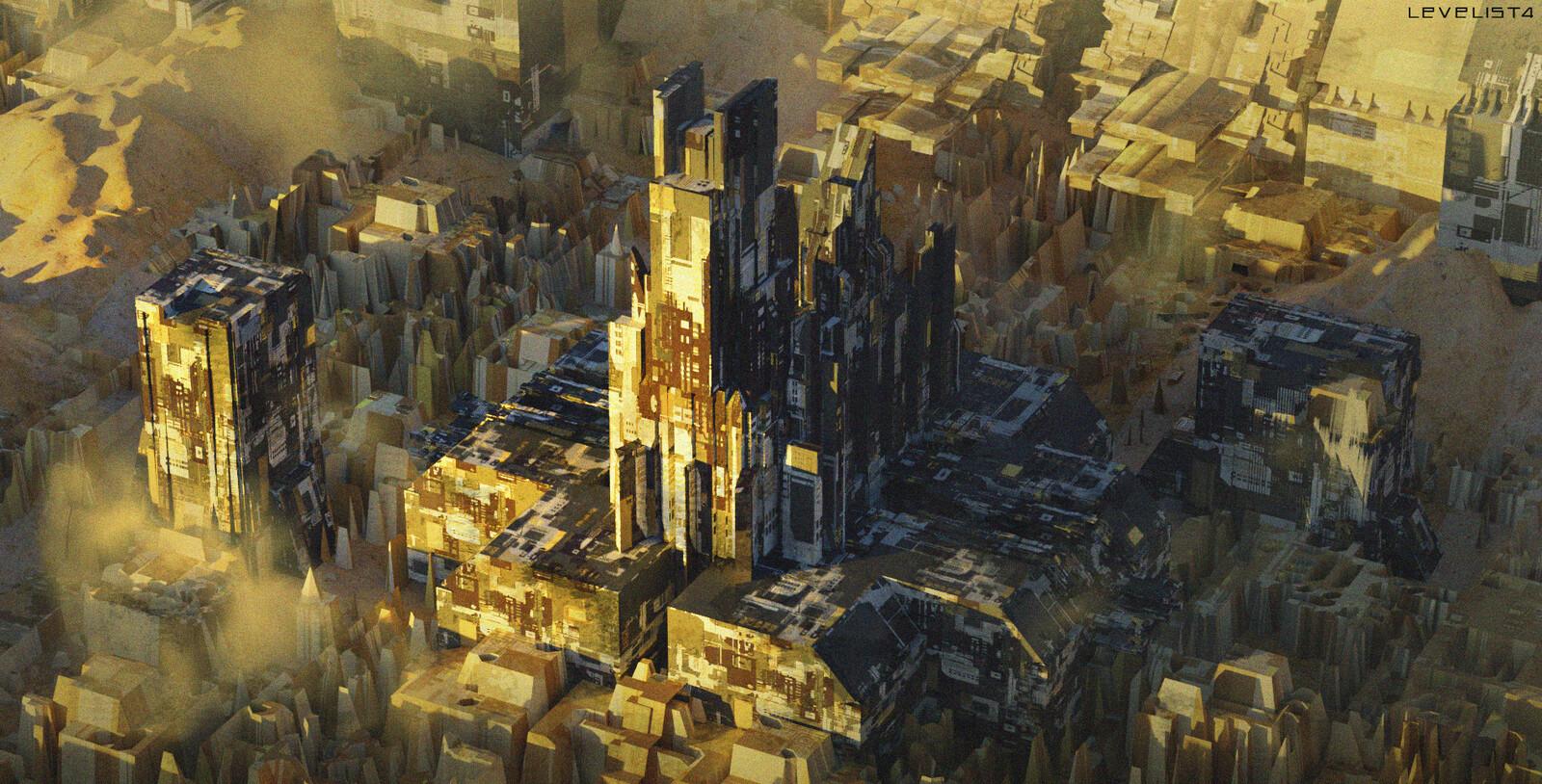 Dystopian City sketch