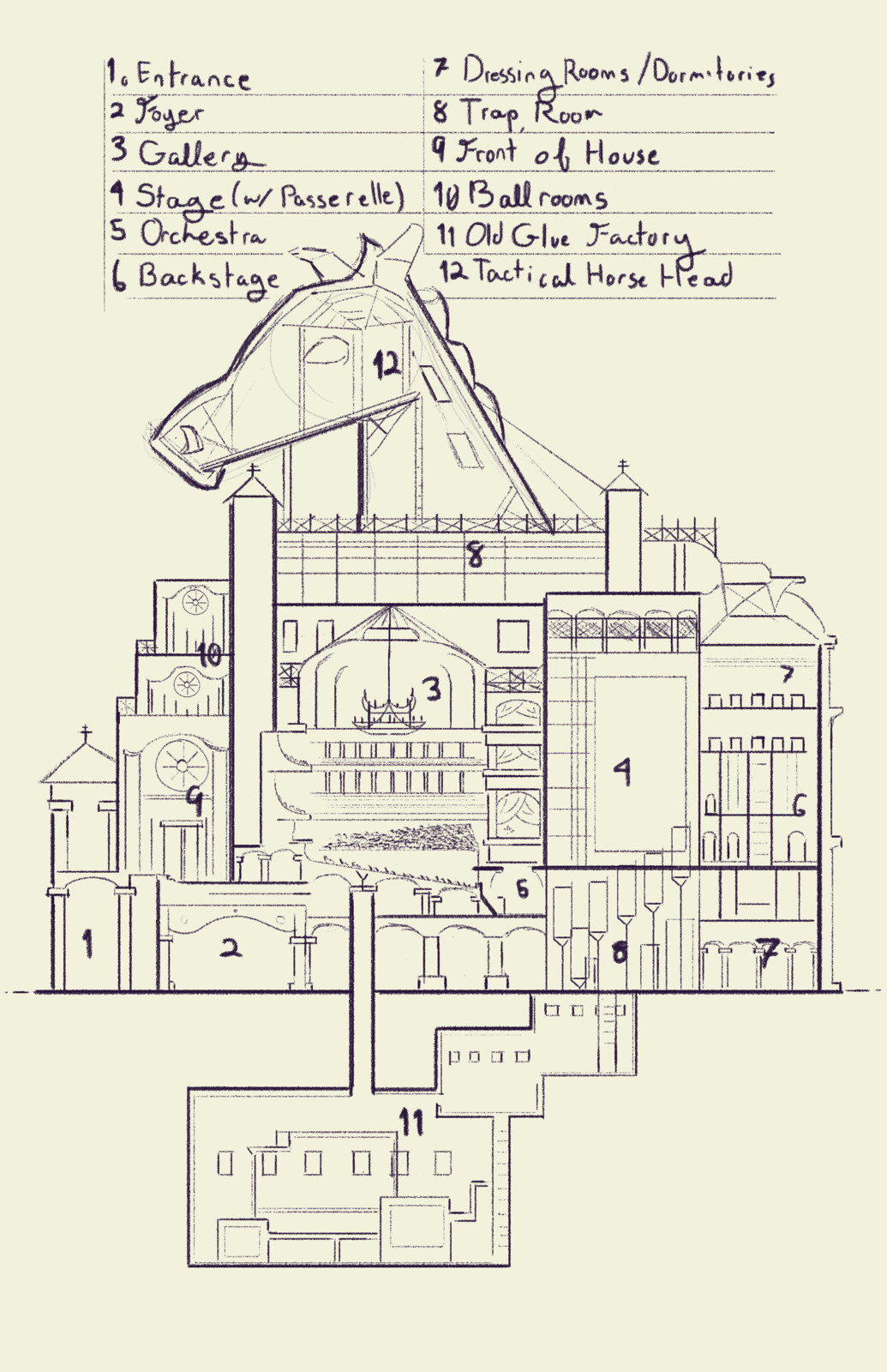 Horse Opera Map