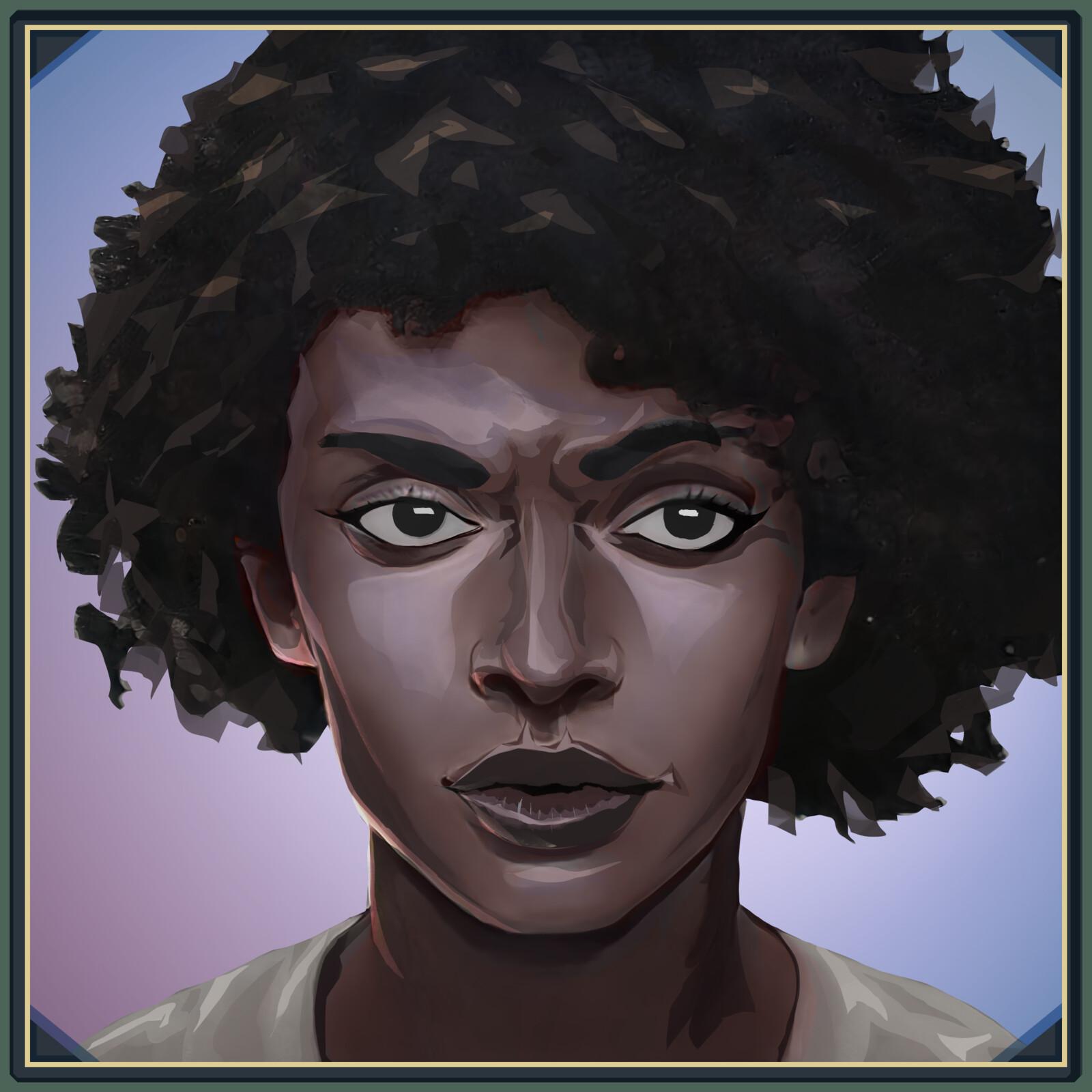 Najila(Portrait) - Aondal