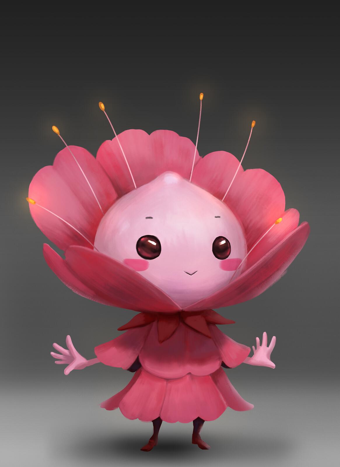 Flower Character