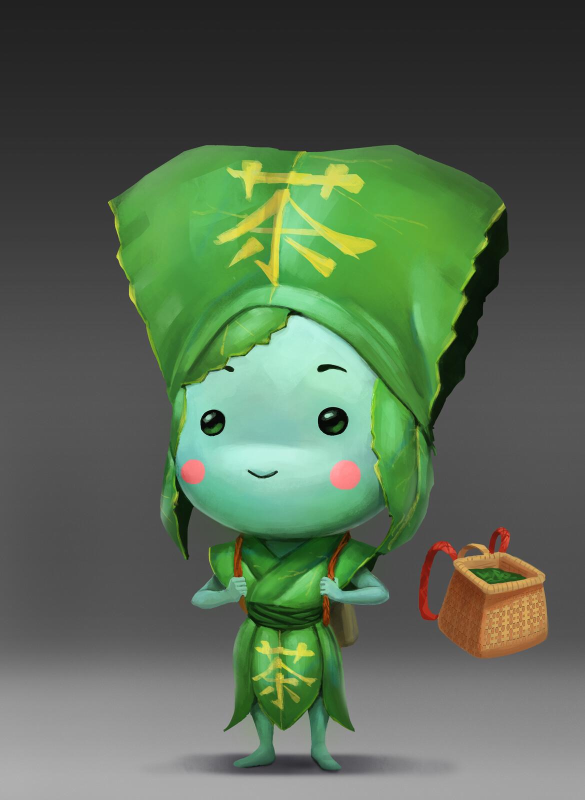 Green Tea Character