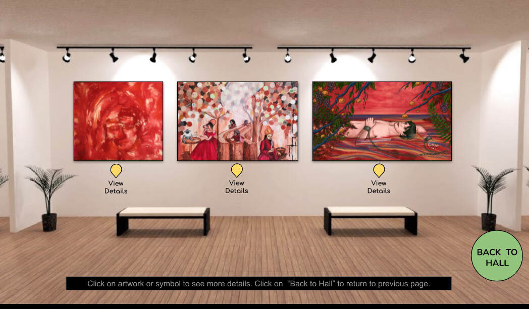 """This is being exhibited at The Artist Lounge's """"In the History"""" virtual exhibition from June to September 2021"""