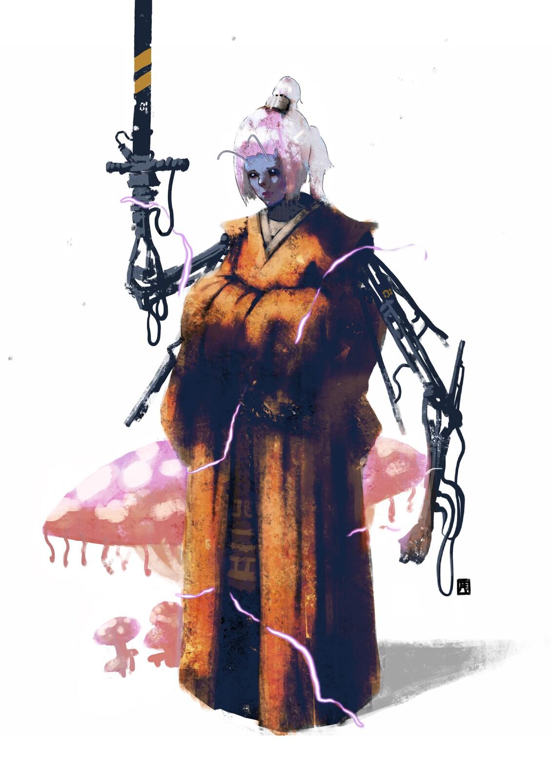 The Mushroom World: Grand Swordmaster//01//Co-version