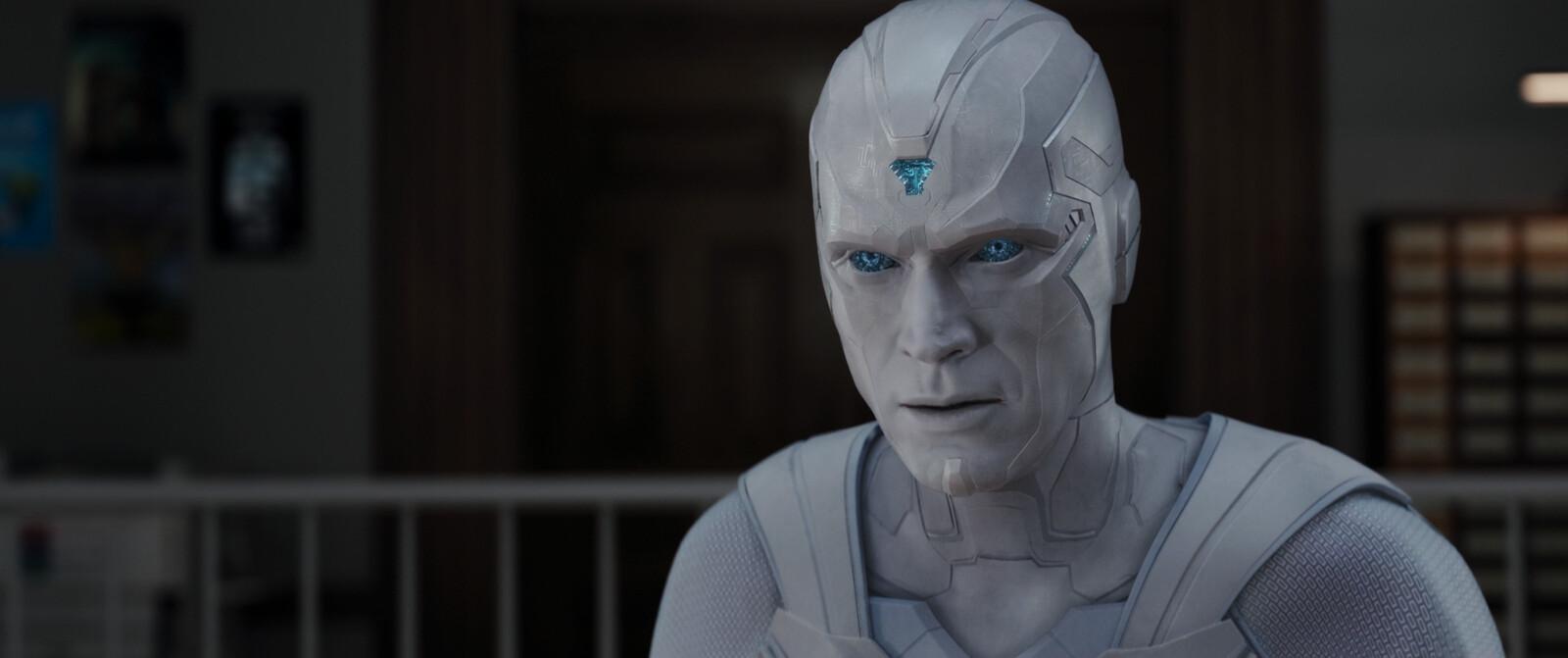 White Vision - Facial Rigging
