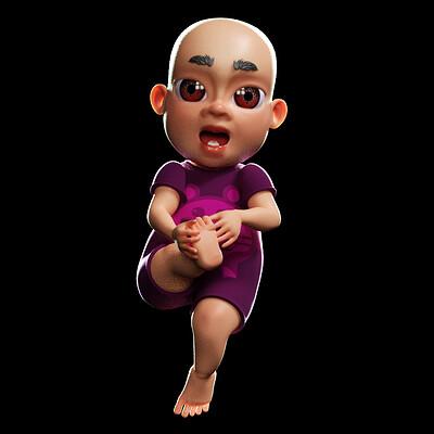 Phong ly baby rigged bm1