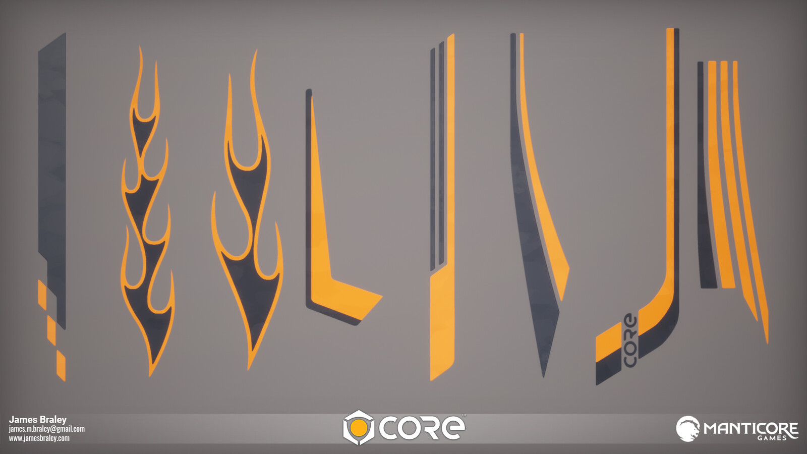 Racing Side Decals (Concepts by Jordan Louie)