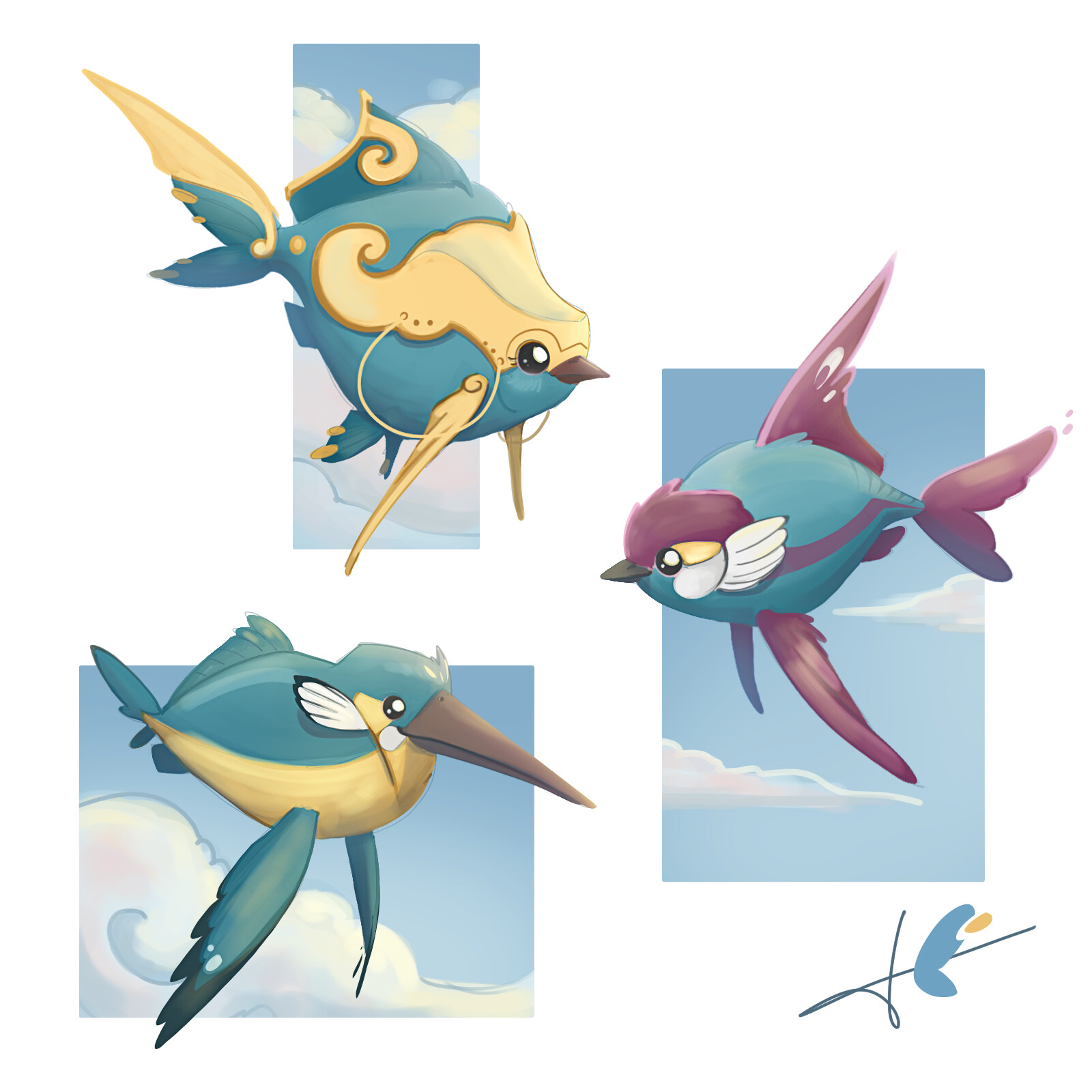 Sky-Fishes