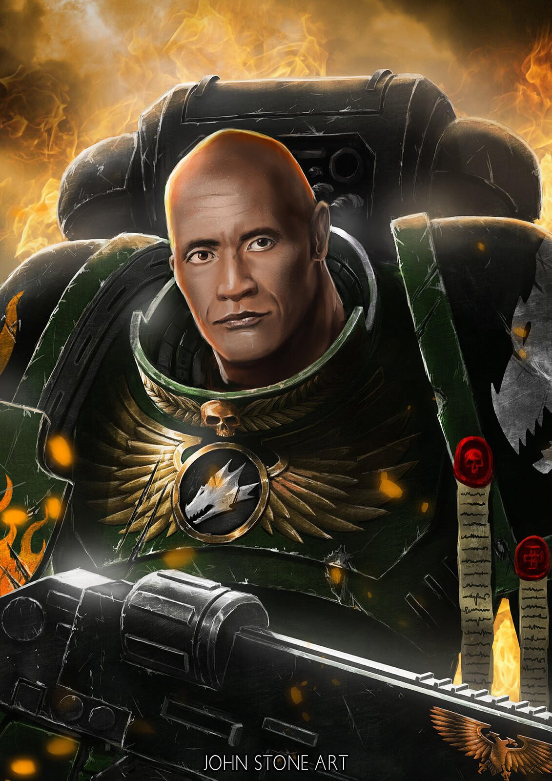 The Peoples Space Marine