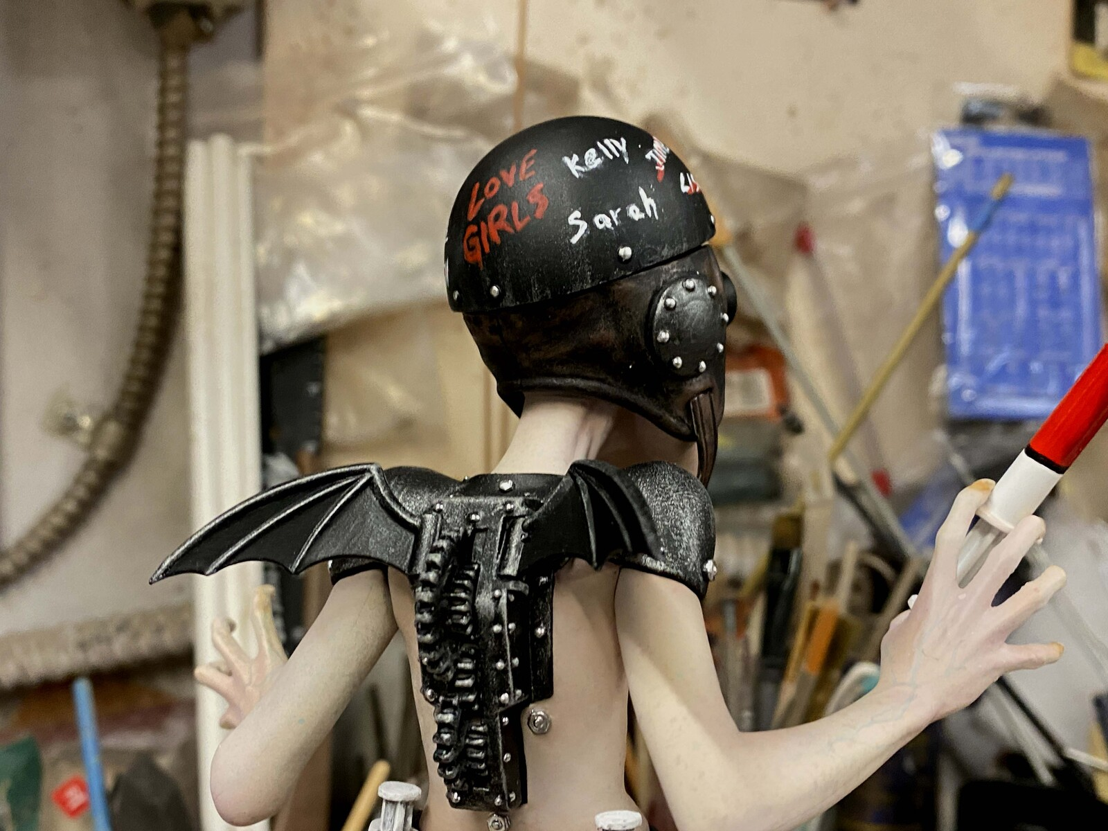 Blood Collector Nosferatu Art Statue  https://www.solidart.club/