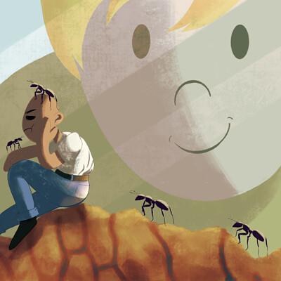 Andrea herrera stuck inside an ant farm copy