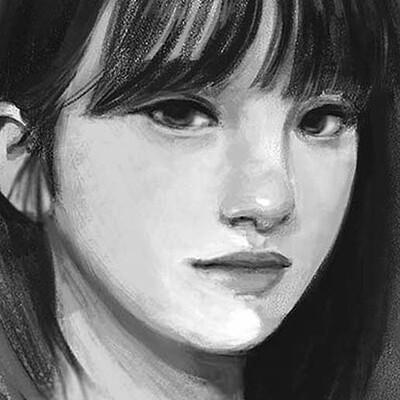 Jeanne landart portrait study1 copie