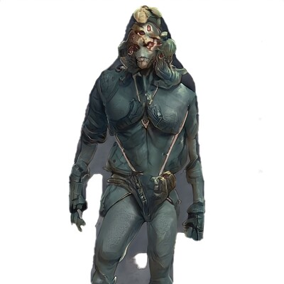 Mark grizenko alien 001 concept