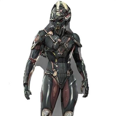 Mark grizenko warrior 004 concept