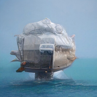 Mark grizenko vehicle ship 002 concept 2k