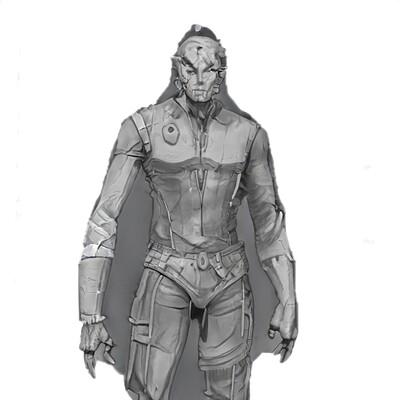 Mark grizenko officer 001 concept