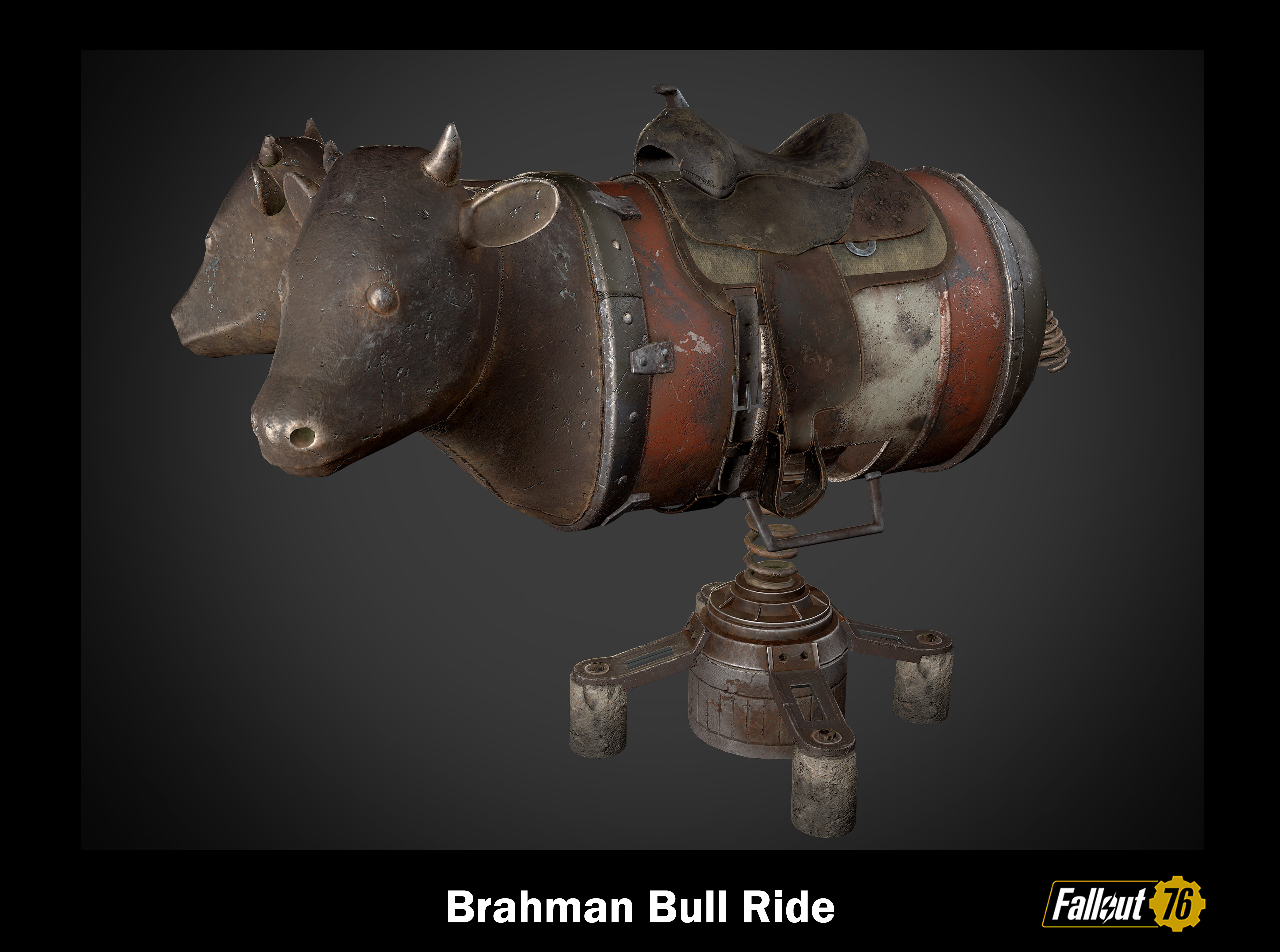 This is an Atomic Shop asset. I used 3ds Max, Zbrush, and Substance painter.