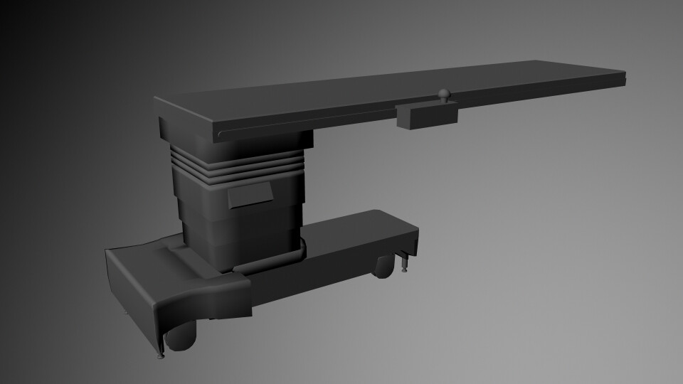 Operating table, No texture