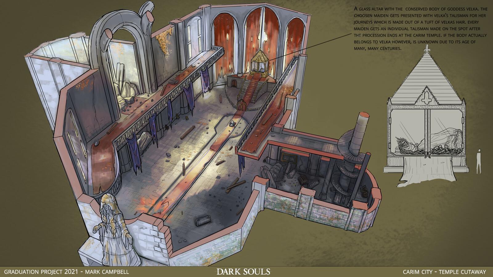 Cutaway - Carim Temple