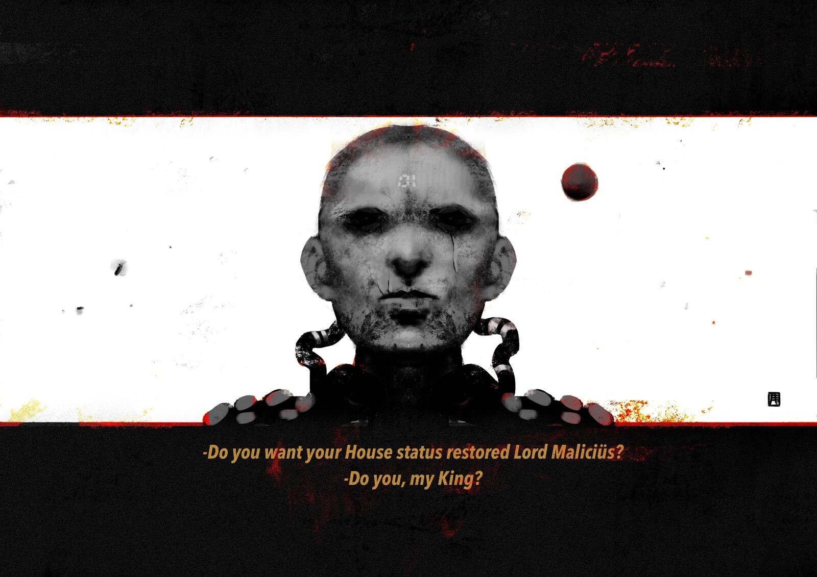 The Mushroom World: Lord Maliciüs//01