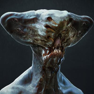 Alien - creature concept