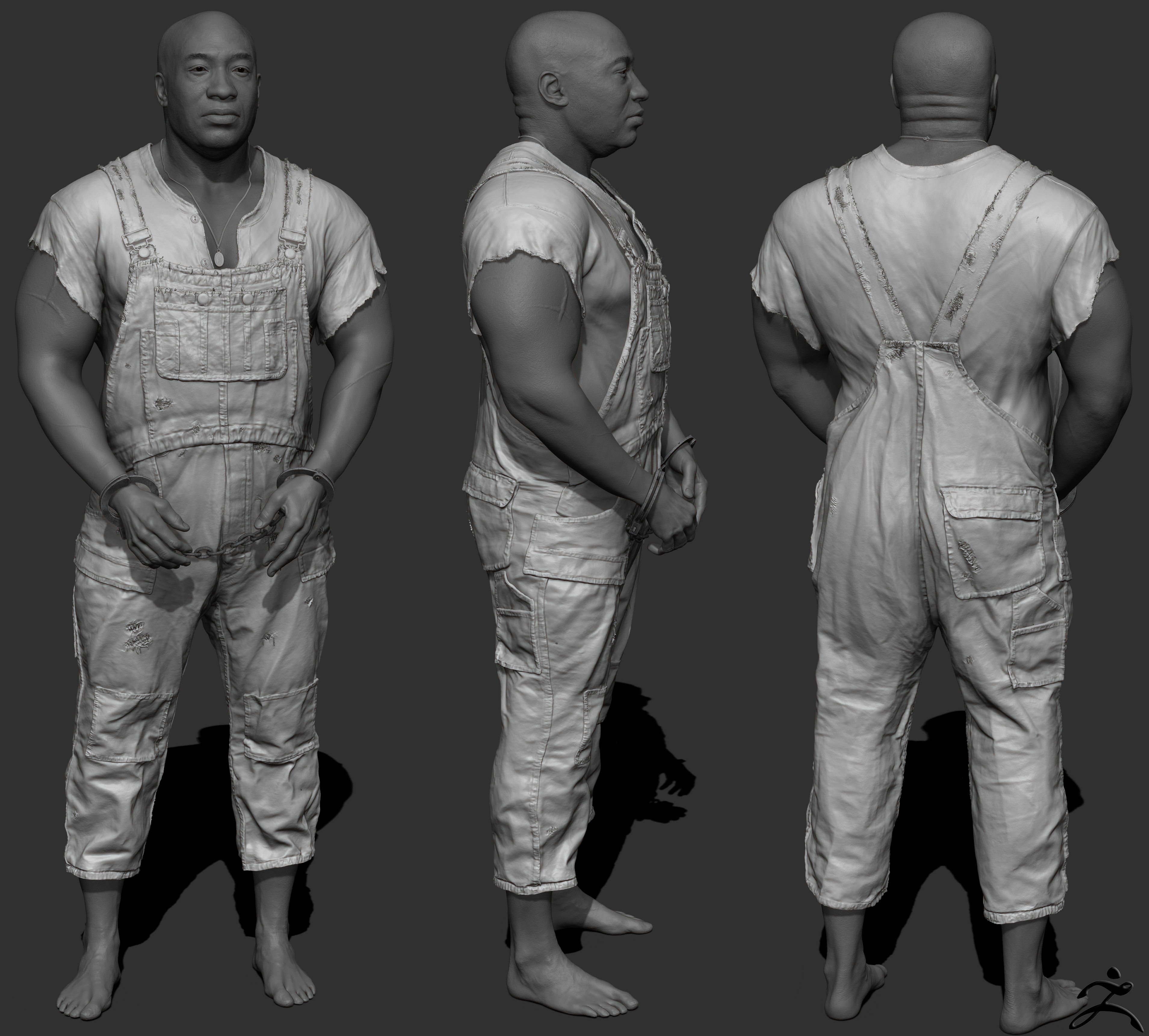 Zbrush Sculpt Body: Quick Render