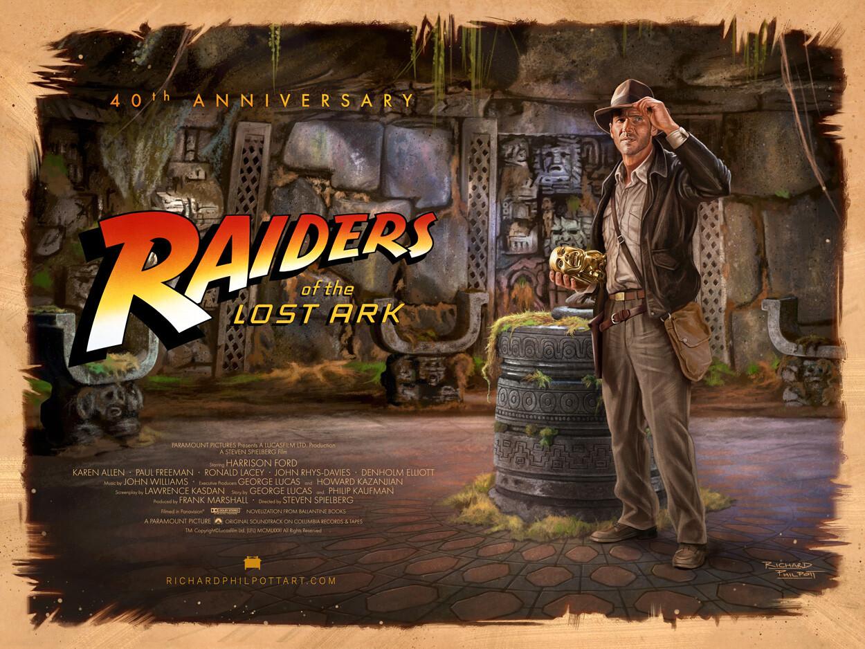 Raiders of the Lost Ark 40th Anniversary - Fan art