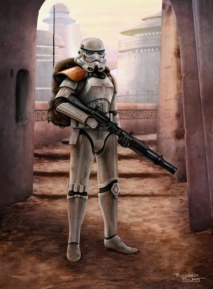Jedha Patrol Stormtrooper