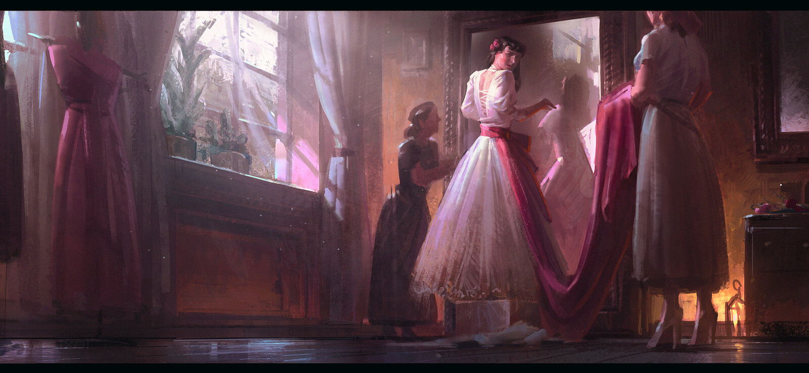 Story Beat Painting Demo Artstation learning