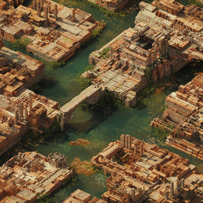The lost city of Imperial Ithos