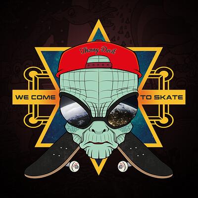 Thorny devil alien skater promo