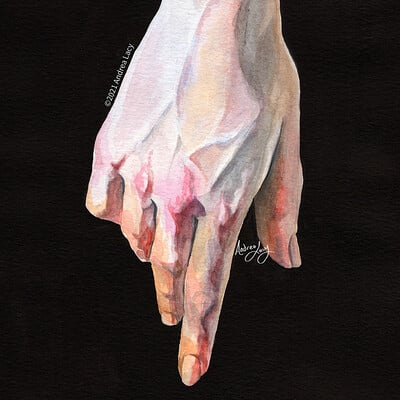 Andrea lacy hand study alacy