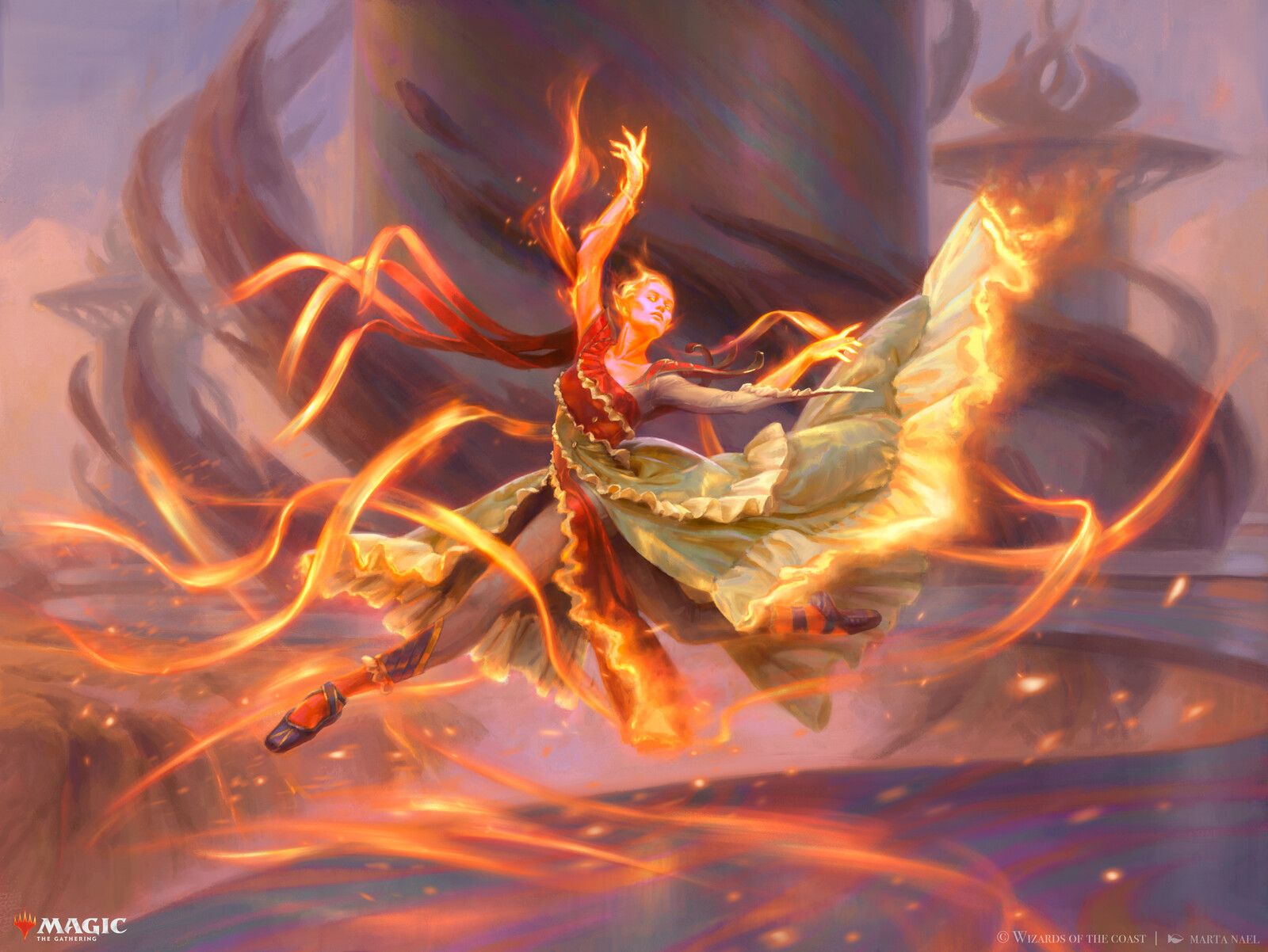 Magic: The Gathering - Efreet Flamepainter