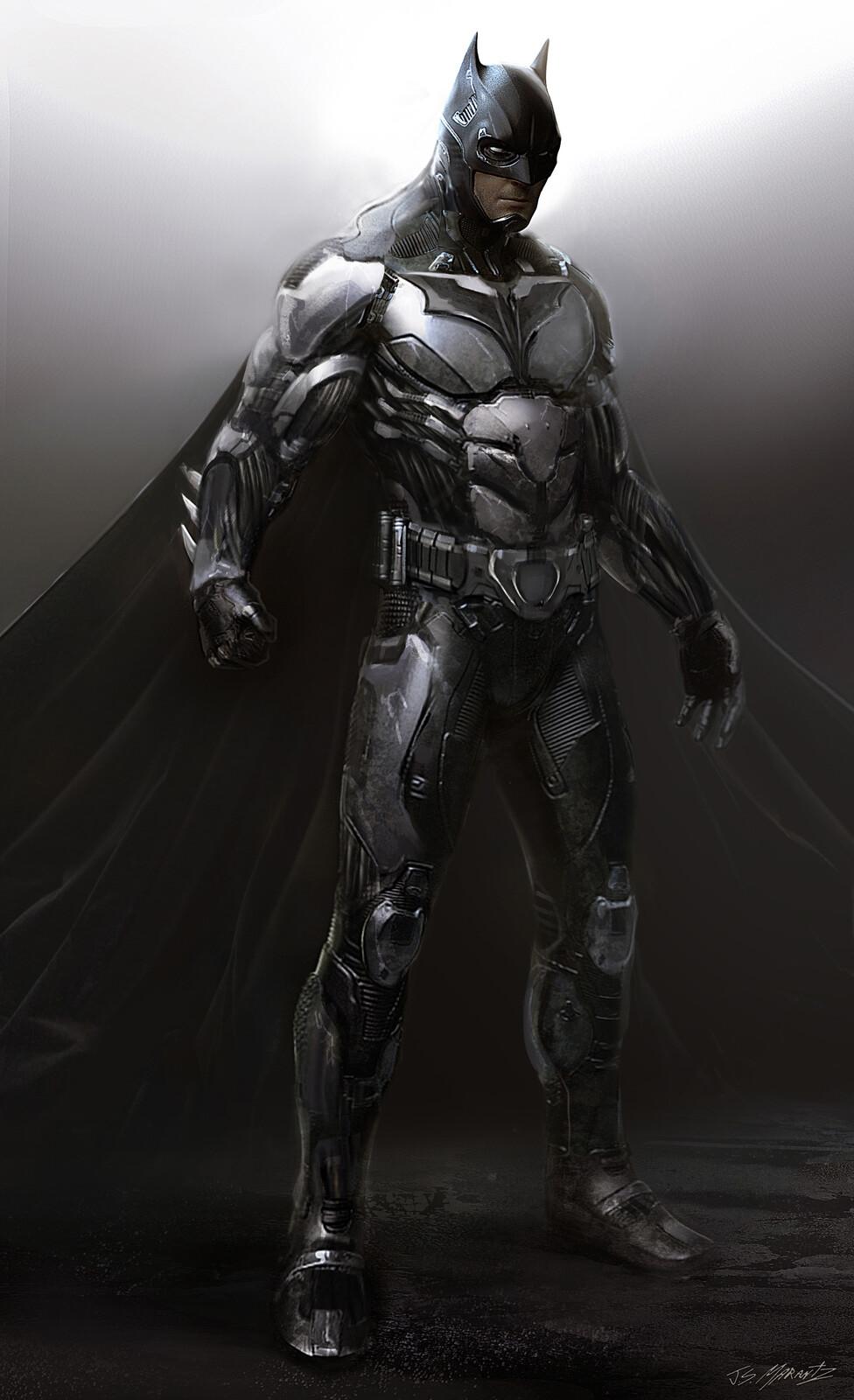 Early Batman Exploration for Batman V Superman