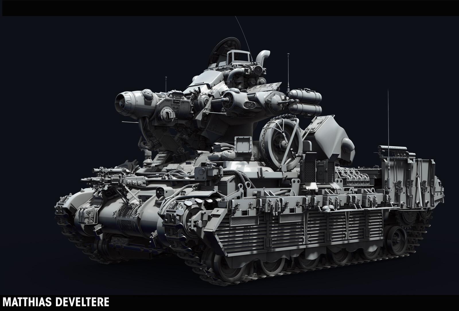 MachineKreiger Tank - 2015