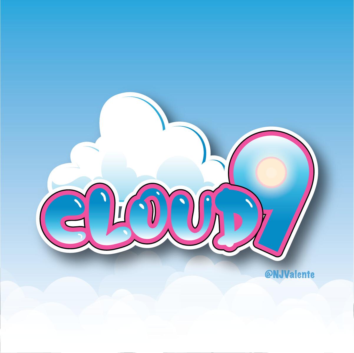 Cloud 9 Cannabis Logo Design