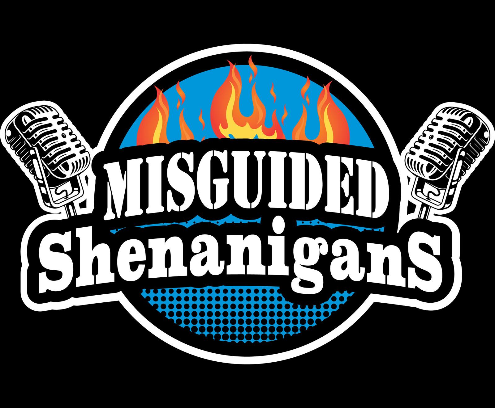 Misguided Shenanigans Podcast Logo