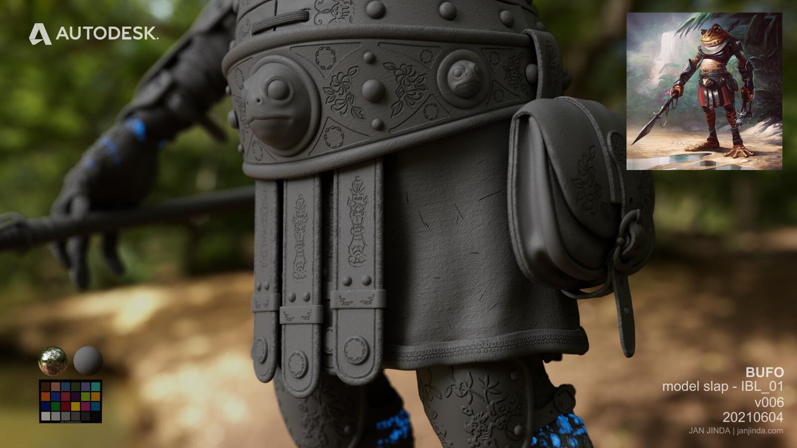 Close up model 02