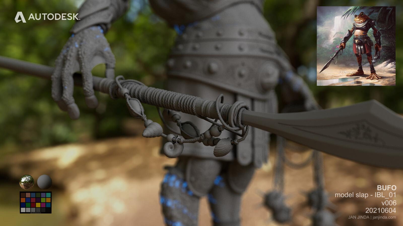 Close up model 04