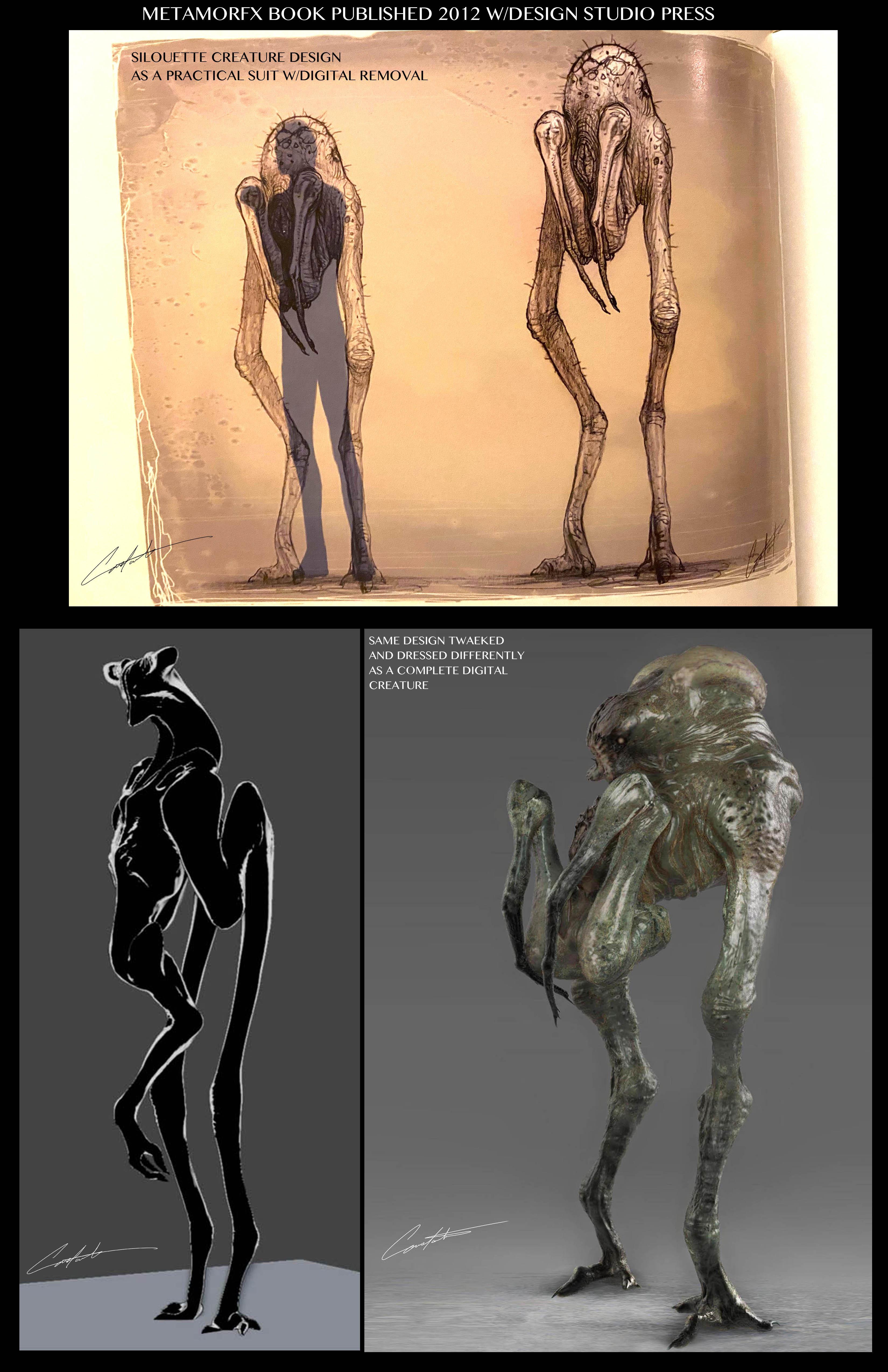 Creature designs 2012