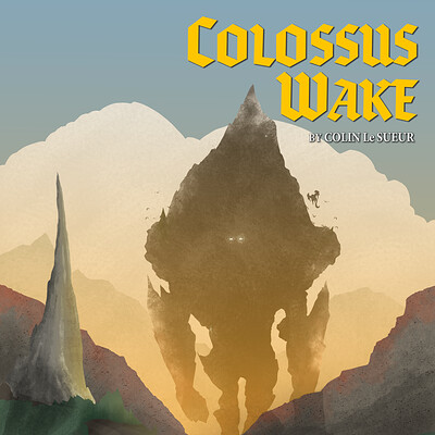 Colin le sueur colossus wake a5 cover no bleed