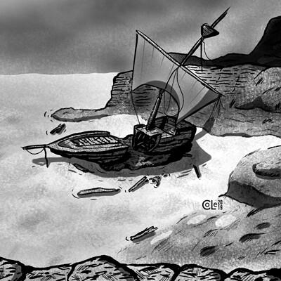 Colin le sueur shipwreck