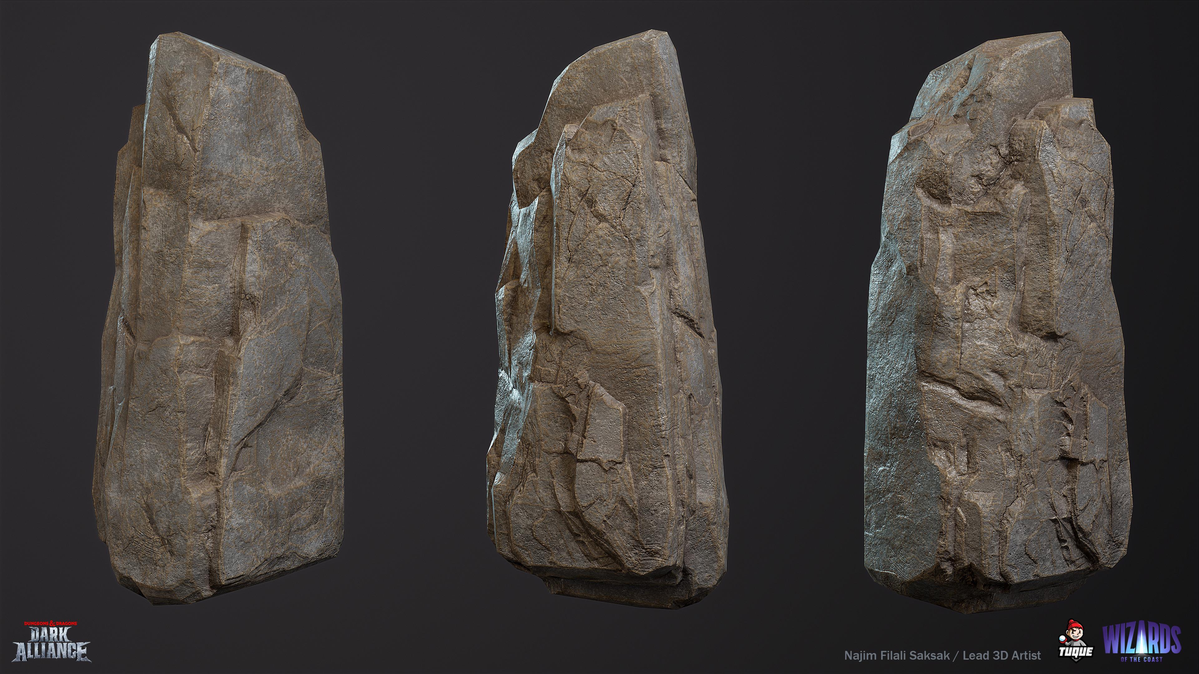 Troll Cave Rock 03 Texture Variant