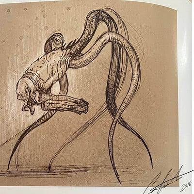 Constantine sekeris creature design sketch book 02a